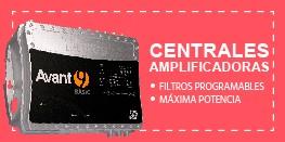 Centrales amplificadores